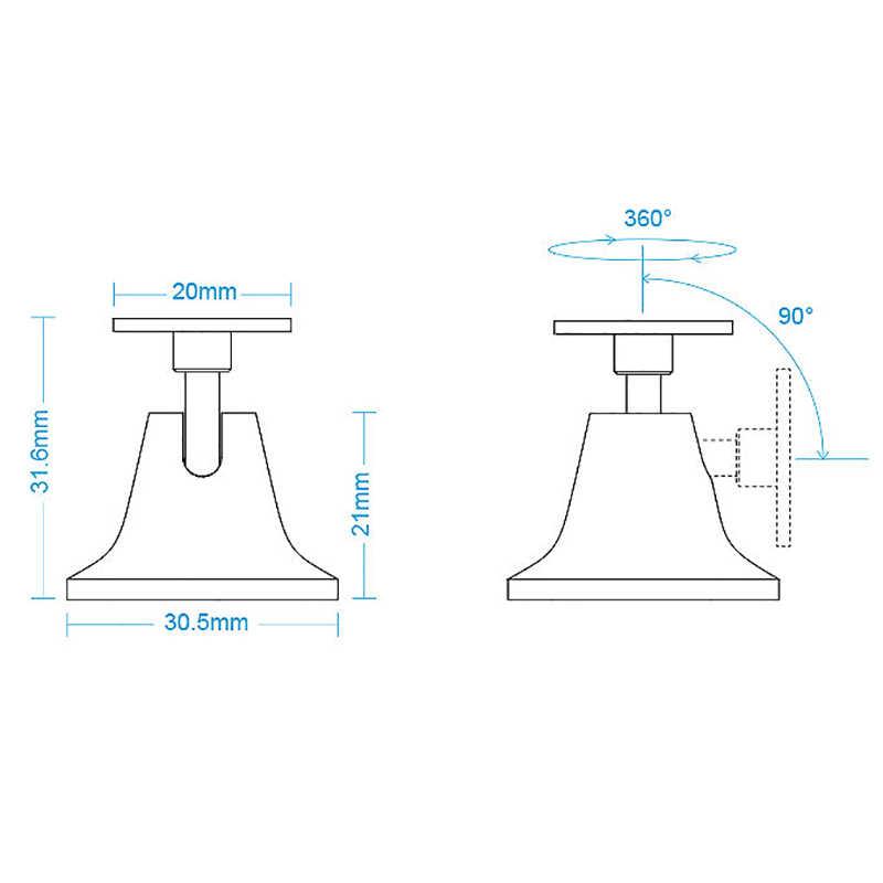 AQARA Новый Aqara человека средства ухода за кожей сенсор держатель стенд 360 градусов свободного вращения движения сенсор основание датчика