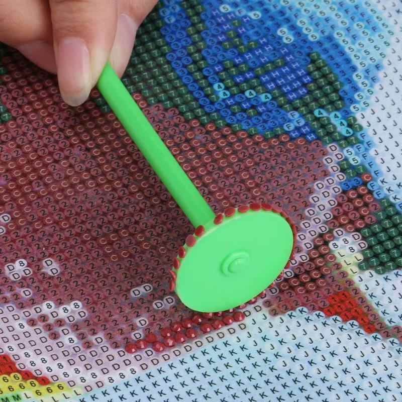 Peinture diamant, Kit d'outils de roue de perceuse, stylo de perceuse, Pick-Up, breloque, porte-plateau 5D à faire soi-même, Kit d'outils de peinture, 5 pièces