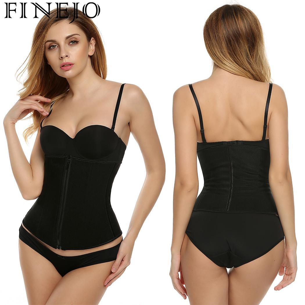 7b584a2ae Detail Feedback Questions about Bra Zipper Bust 85cm Tummy Breathable 60cm  174cm Women Waist Set Trainer Cincher Shapewear Height Included Hip 89cm  Not on ...