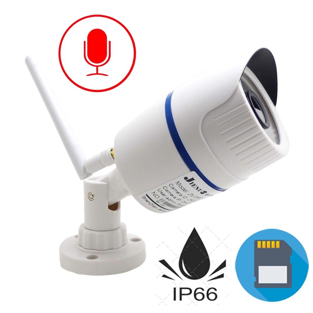Wi-fi Câmera Ip 720 P 960 P 1080 P HD Infravermelho de vigilância Cctv Ao Ar Livre À Prova D' Água de Áudio Micro IPCam Sem Fio Em Casa câmera de segurança