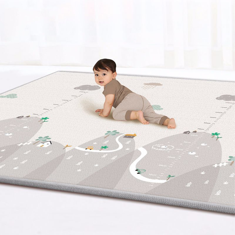 Double-sided Baby Crawling Mat Baby Living Room Climbing Carpet Home Odorless Moisture-proof Children's Play Mat