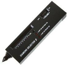 Практичный Алмазный селектор, Алмазный тестер твердости, селектор драгоценных камней II, светодиодный индикатор, инструмент для тестирования ювелирных изделий