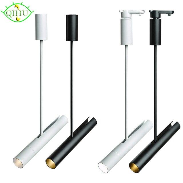 10w Led Track Light Aluminum Ceiling Rail Lighting Spot Spotlights Replace Halogen Lamps Ac220v In From Lights On