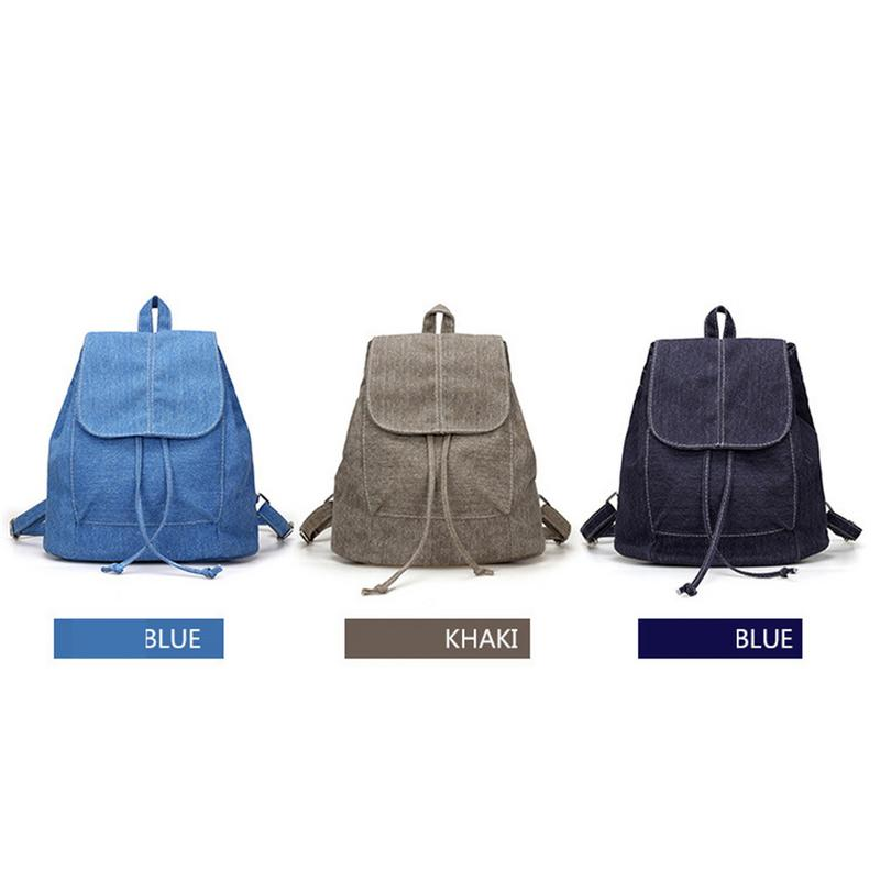 Unisex Canvas Solid Color Backpack Unisex Backpack School Bag Casual Simple Style Backpack For School Student Khaki Blue BlackUnisex Canvas Solid Color Backpack Unisex Backpack School Bag Casual Simple Style Backpack For School Student Khaki Blue Black