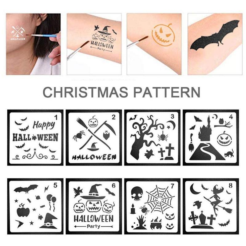 8 Pcs Christmas Drawing Board Holiday Template For Merry Christmas Draw Design <font><b>Logos</b></font> <font><b>Posters</b></font> Make Art Classroom Project Etc image