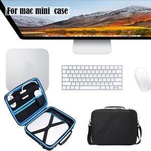 Image 5 - נייד תיק נשיאה נסיעות תיק נשיאה עבור Apple Mac Mini שולחן העבודה ואבזרים נייד אחסון תיק עמיד הלם פאוץ H