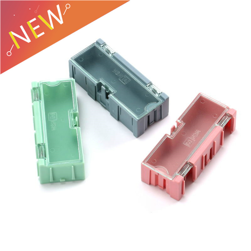3pcs DIY Tools Packaging Box Electronic Components Screw Storage Box Removable Storage SMD SMT Jewelry Tool Case