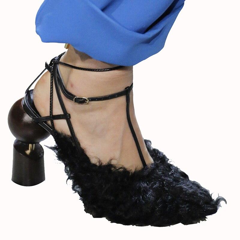 Up Schuhe as Pumpen Show Pelz Zehe Spezielle Frauen Alias Hochzeit Mujer Spitzen Heels Show Luxus High Design As Spitze Sommer Bausteine UHUqf7c6v