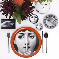 10 Inch Utenos Fornasetti Plates Home Decoration Christmas Decoration Dinner Plate Decorative Wall Dishes China Wall Plates