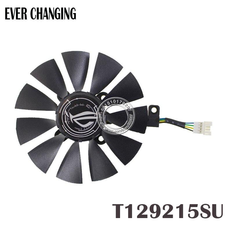T129215SU 12 V 0.5A 87mm para ASUS Strix RX470 RX460 GTX980TI R9 390X GTX1080 tarjeta gráfica ventilador de refrigeración