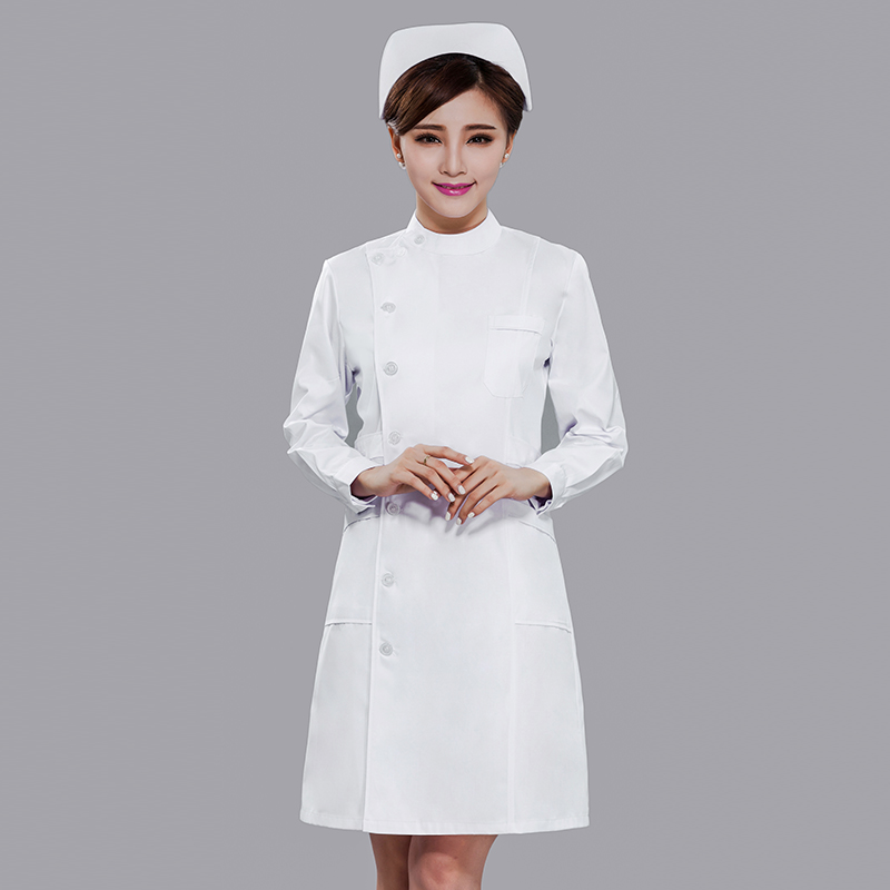 2019 Rushed Real Uniformes Clinicos Mujer Medical Uniforms Nurse Dress Female Style Coat Short Sleeve Summer Pharmacy Doctor