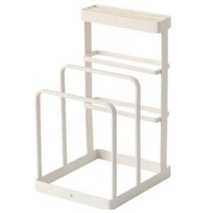Image 1 - Кованая Железная кухонная стойка для хранения ножей, стойка для слива кухонной разделочной доски, вертикальная стойка для хранения инструментов