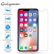hot deal buy new hd tempered glass on iphone 7 plus 6 6s plus 5s 5 se 4s 4 anti-shock screen protector film for iphone 8 plus x xs xr xs max