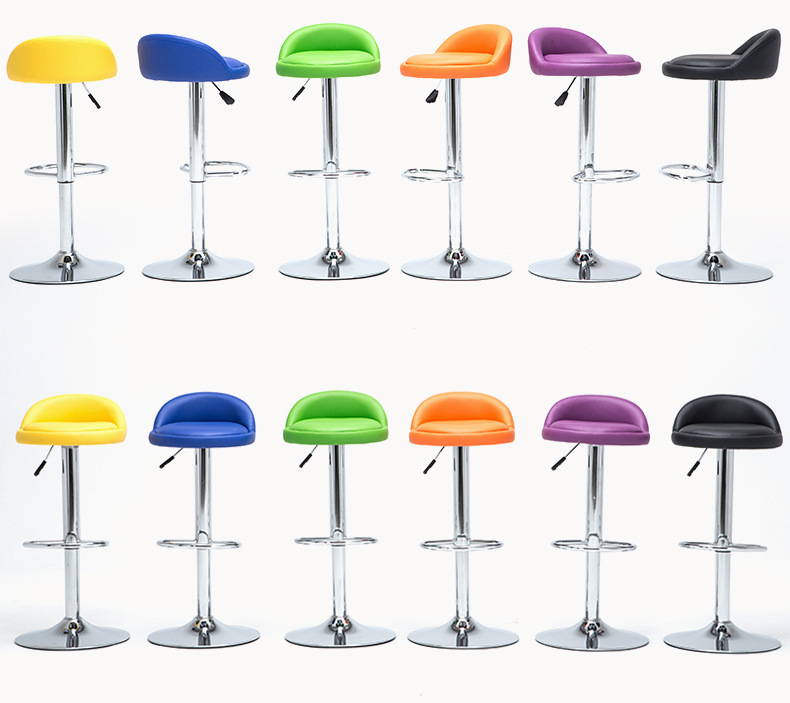 Купить с кэшбэком Simple Design Swivel Bar Chair Lifting Bar Stool Rotatable Adjustable Height Reception/Waiting Room Chair High Quality cadeira