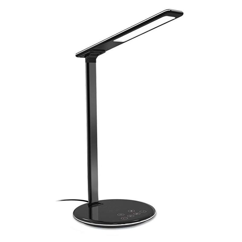 ON SALE LED Desk Lamp Table Lamp Folding 4 Light Color Temperature Office Light Wireless Desktop Charger USB
