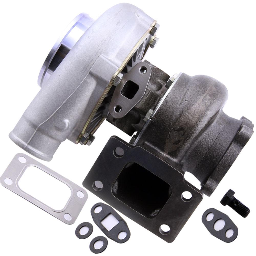 GT3076R GT30 GT3037 turbocompresseur 500HP T3 Turbo externe poubelle eau froide pour 3.0-5.0L moteur flottant roulement Turbo chargeur