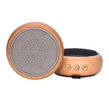 Reproductor de madera portátil inalámbrico Bluetooth altavoz innovador regalo estéreo Hd sonido música Surround dispositivos tipo colgante ordenador