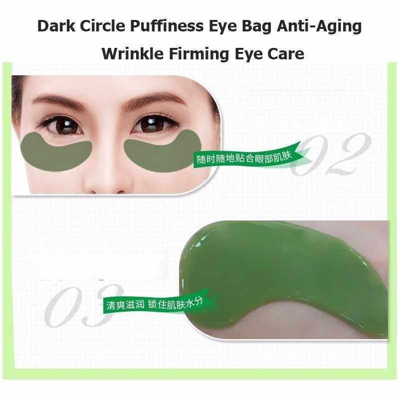 8 Pcs Oro Mascherina di Occhio del Collageno Toppe e Stemmi Maschera per Gli Occhi Per Le Occhiaie Rimuovere Gel Maschera per gli Occhi Senza Età Gonfiore Anti -invecchiamento Ruga