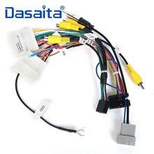 Dasaita Auto cavo Audio cavo Audio DVD Cablaggio Adattatore per Nissan Qashqai 2008 2009 2010 2011 2012 Supporto Bose Amplificatore di Fabbrica Della Macchina Fotografica