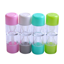RGP Contact Lens Case Mini Bright Color Practical Convenient Adorable Box Travel Kit for Outdoor Daily Use