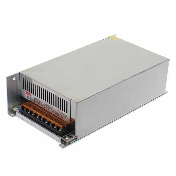 AC 115-230 В к DC 12 В 50A 600 Вт импульсный источник питания Драйвер для светодиодной полосы света
