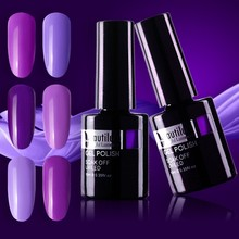 Beautilux  1pc UV LED Purple Violet Gel Nail Polish Soak Off Art Design Nails Esmalt 10ml