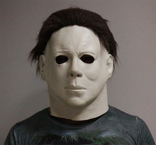 2019 High Quality Realistic Halloween Latex Decoration Scary Mask Party Dress Michael Myers