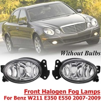 A1698201556 for Benz W211 W204 E350 E550 2007 2008 2009 1 Pair L+R Front Fog Light Lamp No Bulb Front Halogen Lamps Front