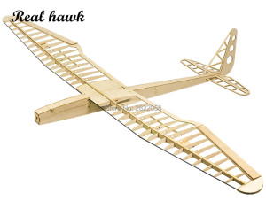 Image 1 - RC Plane Laser Cut Balsa Wood Airplanes sunbird 2017 motor glider Wingspan 1600mm Balsa Wood Model Building Kit