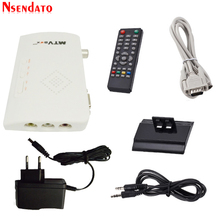 MTV Box AV To VGA TV Receiver Tuner 1080P External LCD CRT