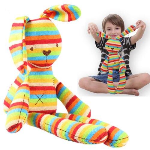 Fios de tricô Bonito Bichos de pelúcia Macia Boneca de Brinquedo Coelho De Pelúcia Brinquedos Do Bebê Crianças BRINQUEDOS Favores de Partido