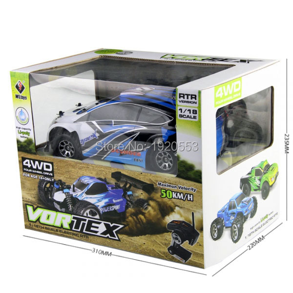 Original WLtoys A949 4WD 2 4GHz Race Remote Control RC Car 1 18 High Speed 50km