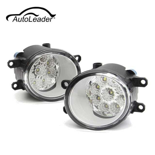 Pair 100w 9 Led L Amp R Led Car Fog Light Lamp For Toyota
