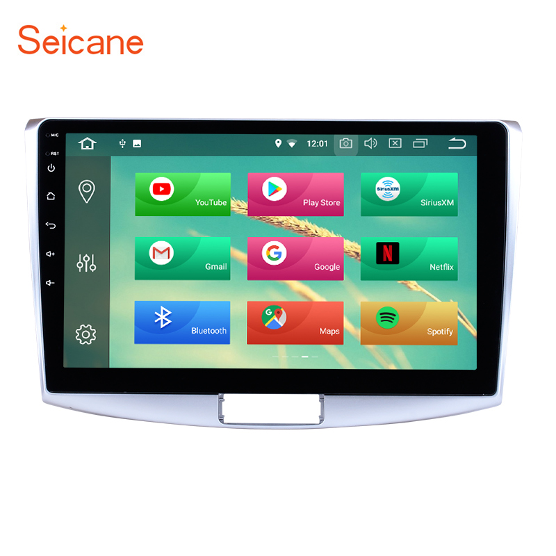 Seicane 10.1 inch Android 8.1 for 2012 2013 2014 VW Volkswagen Magotan Radio HD 1024*600 Multimedia GPS Navigation Stereo Player