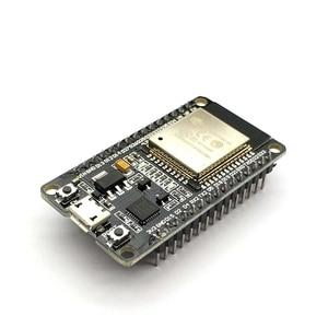 Image 2 - Free shipping ESP32 ESP 32 CP2102 Wireless WiFi Bluetooth Development Board Micro USB Dual Core Power Amplifier Filter Module