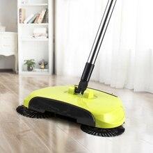 Волшебная щетка для уборки, ручная метла, совок, вращающийся на 360 градусов для дома, кухни, лиственных пород, ламинат, деревянная Напольная керамическая плитка, подметальная машина