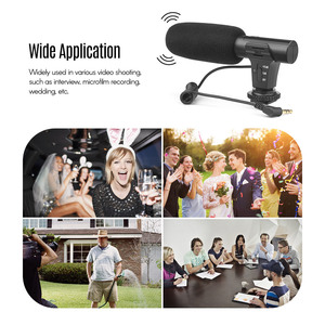 Image 2 - SHOOT XT 451 Portable Condenser Stereo Microphone Mic with 3.5mm Jack Hot Shoe Mount for Canon Sony Nikon Camera Camcorder
