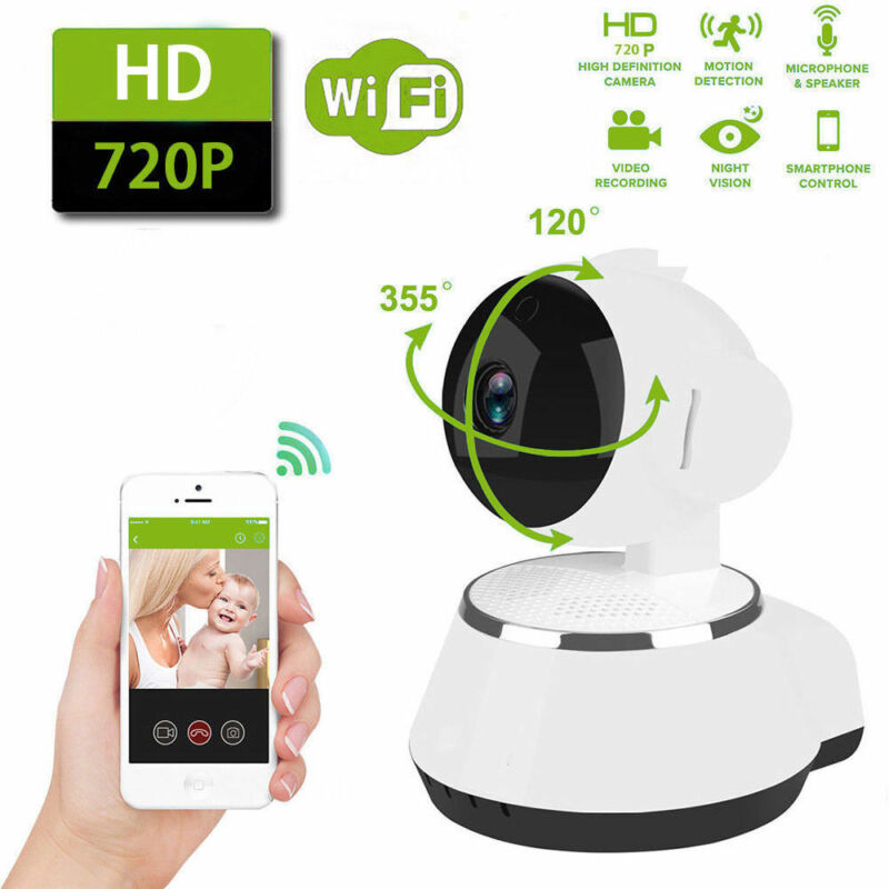 HD Wireless Wifi IP Camera Webcam Baby Pet Monitor CAM Pan Remote Home Security image