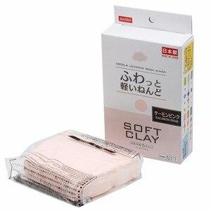 Легкая японская мягкая глина для моделирования, сверхлегкая глина для сушки воздуха, голубой, розовый, черный, белый, красный, желтый, зелены...