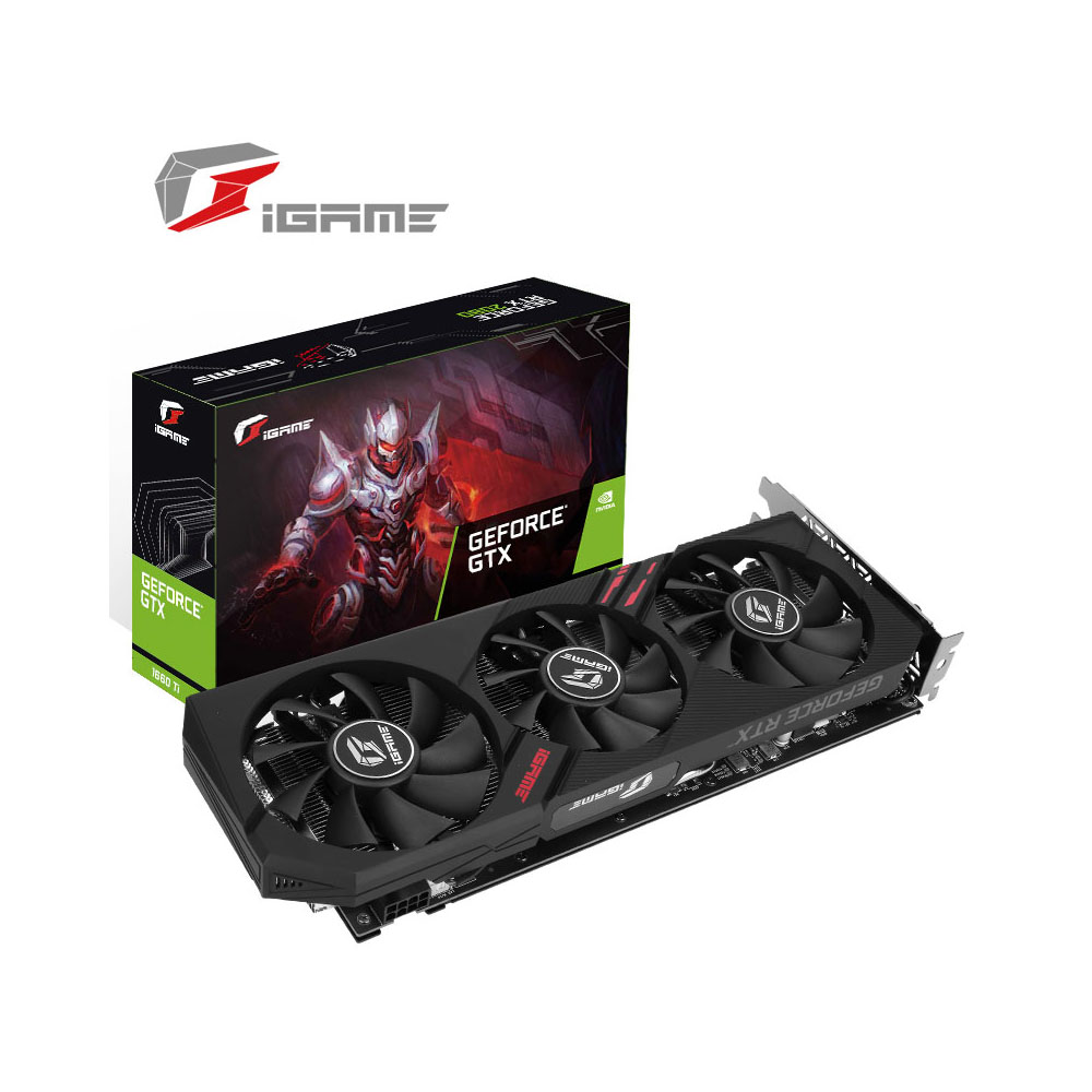 Carte graphique iGame GeForce GTX 1660 Ti Ultra GDDR6 6G