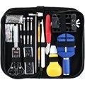 147 шт. набор для ремонта часов профессиональный набор инструментов с пружинным стержнем  набор инструментов с ремешком для часов с чехлом дл...
