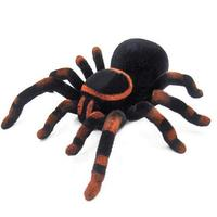 Remote Control Soft Scary Plush Creepy Spider Infrared RC Spider Toys Electric Toys For Children