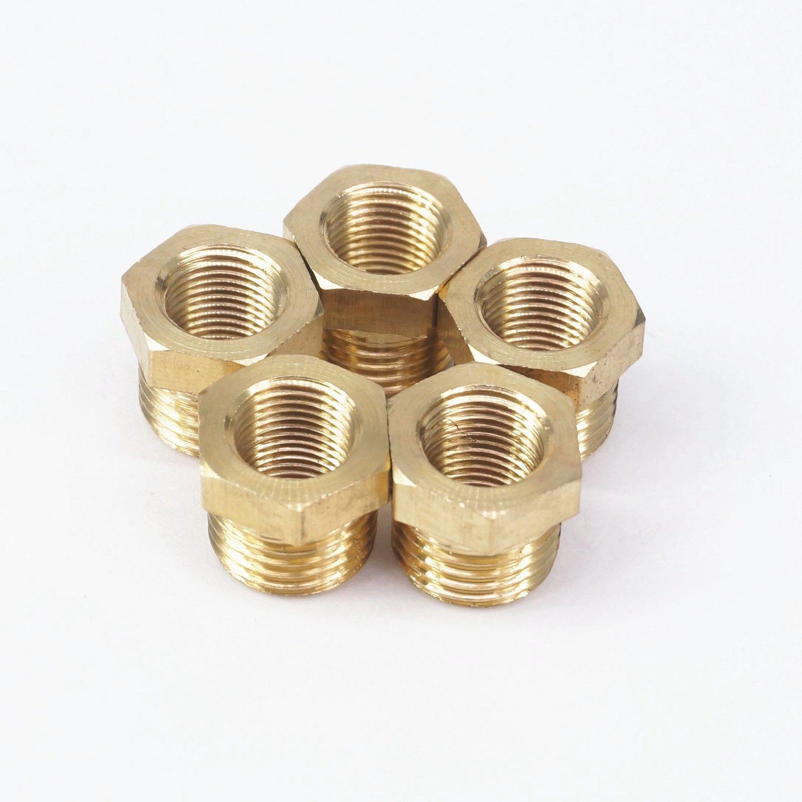Brass Reducer 1/4
