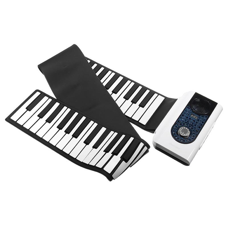 Haute qualité 88 touche retrousser Piano 140 types de tons Silicone pliant clavier électronique pianos pour enfants avec clavier MIDI