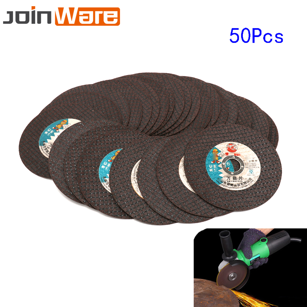 50Pcs 105mm Cutting Wheel Grinding Disc Ultrathin Resin Discs For Stainless Steel Iron Metal Angle Grinder