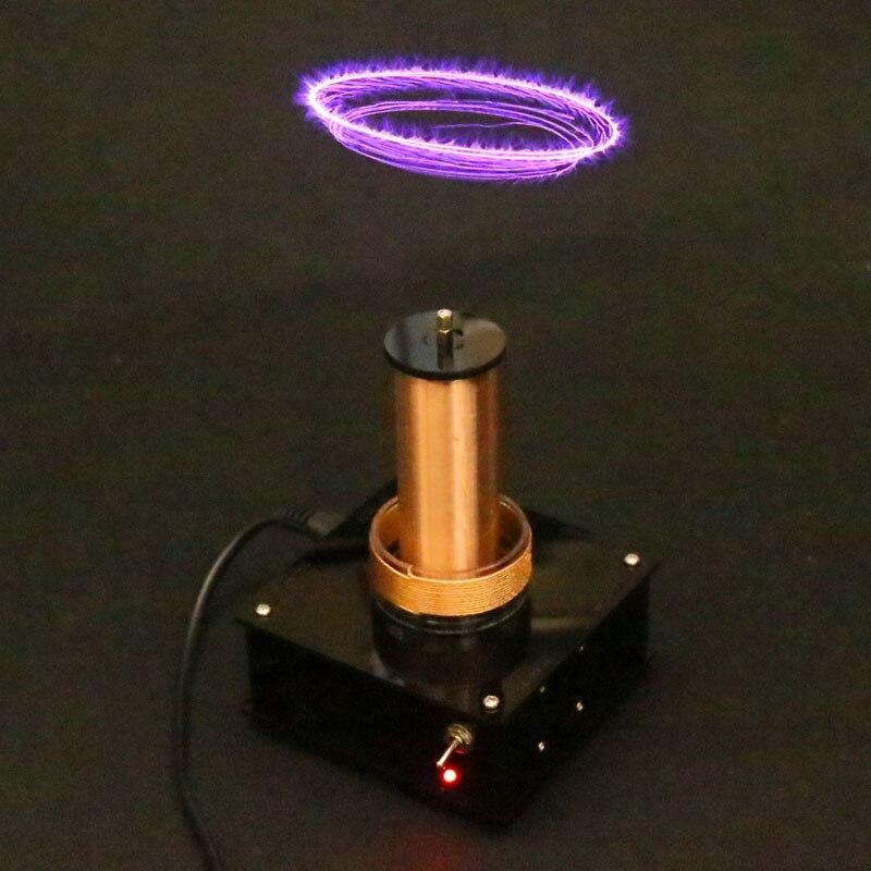 2019 nouvelle musique Tesla bobine sans fil Transmission musique plasma haut-parleur, bobine Tesla, kit de bricolage électronique fini