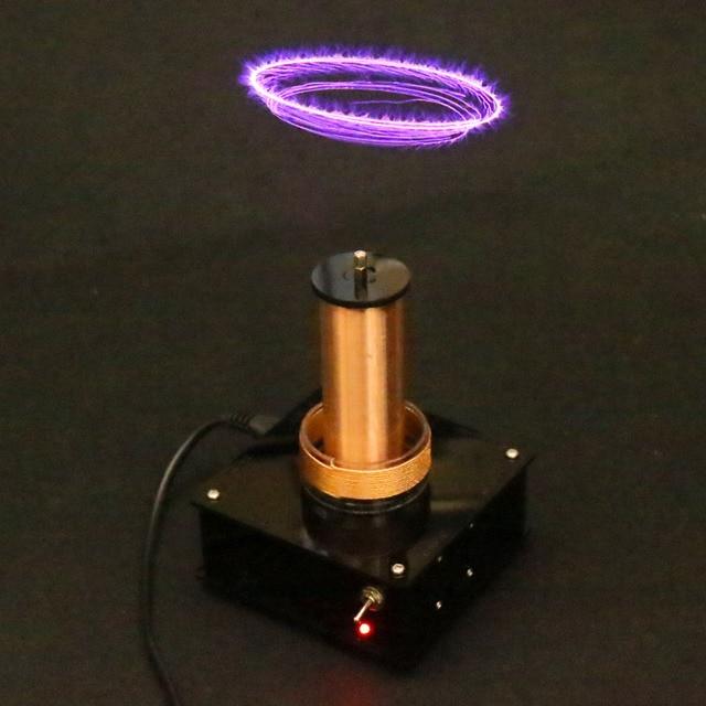 2019 nouvelle musique Tesla bobine sans fil Transmission musique plasma haut parleur, bobine Tesla, kit de bricolage électronique fini