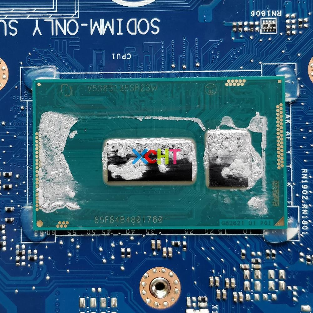 Image 3 - CN 0V2X3C 0V2X3C V2X3C AAL10 LA B843P w I7 5500U GT920M GPU for Dell Inspiron 5458 5558 5758 NoteBook Laptop Motherboard Tested-in Laptop Motherboard from Computer & Office