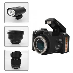 "Image 5 - D7200 33MP דיגיטלי מצלמה DSLR 0.5X רחב זווית עדשה + 24X טלה עדשה + LED אור 3.0 ""TFT LCD תצוגת מלא HD מצלמה"