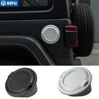 MOPAI Tank Covers for Jeep Wrangler JL 2018 Up Car Oil Cap Fuel Tank Cap Cover for Jeep JL Wrangler Car Accessories Styling